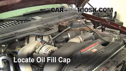 2005 ford f250 6.0 oil capacity