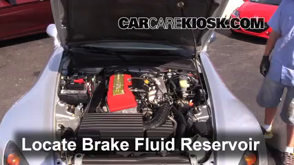 2005 Honda S2000 2.2L 4 Cyl. Brake Fluid
