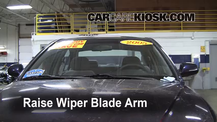 2005 Hyundai Elantra GLS 2.0L 4 Cyl. Sedan (4 Door) Windshield Wiper Blade (Front) Replace Wiper Blades
