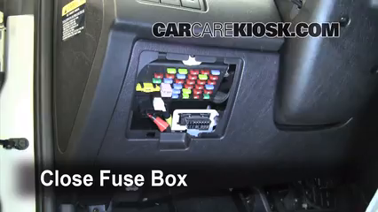 Interior Fuse Box Location 2003 2008 Hyundai Tiburon 2005