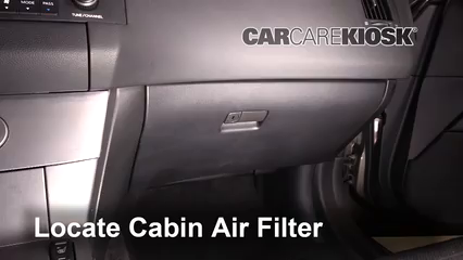 Cabin Filter Replacement: Infiniti FX35 2003-2008 - 2006 ...