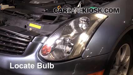 Headlight Change 2003-2009 Nissan 350Z - 2008 Nissan 350Z 3 5L V6