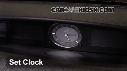 2005 Infiniti G35 3.5L V6 Coupe (2 Door) Clock