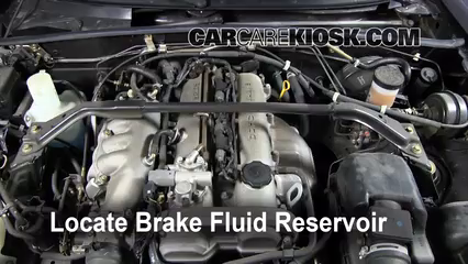 2005 Mazda Miata LS 1.8L 4 Cyl. Brake Fluid Check Fluid Level