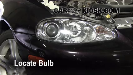 2005 Mazda Miata LS 1.8L 4 Cyl. Lights Headlight (replace bulb)