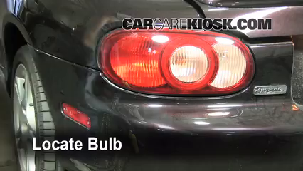 2005 Mazda Miata LS 1.8L 4 Cyl. Lights Reverse Light (replace bulb)