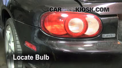 2005 Mazda Miata LS 1.8L 4 Cyl. Lights Tail Light (replace bulb)