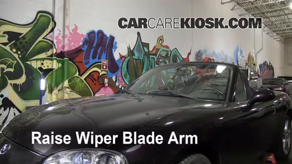 2005 Mazda Miata LS 1.8L 4 Cyl. Windshield Wiper Blade (Front) Replace Wiper Blades