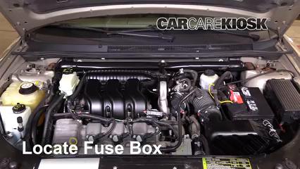 2005 mercury montego premier 3 0l v6 fuse (engine) check