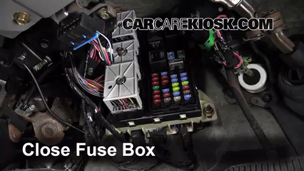 interior fuse box location: 2000-2005 mercury sable - 2005 mercury sable gs  3 0l v6 sedan