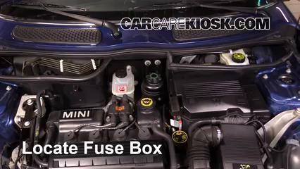 Replace a Fuse: 2002-2008 Mini Cooper - 2005 Mini Cooper 1.6L 4 Cyl. CoupeCarCareKiosk