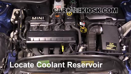 how to add coolant mini cooper (2002 2008) 2005 mini  mini cooper engine coolant #12