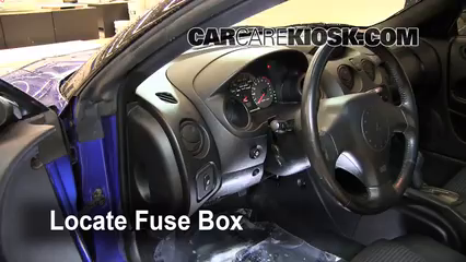 interior fuse box location 2000 2005 mitsubishi eclipse 2005 rh carcarekiosk com