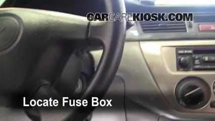 isuzu box truck fuse box interior fuse box location: 2002-2007 mitsubishi lancer ... mitsubishi box truck fuse box