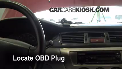 Engine Light Is On: 2002-2007 Mitsubishi Lancer - What to Do - 2005