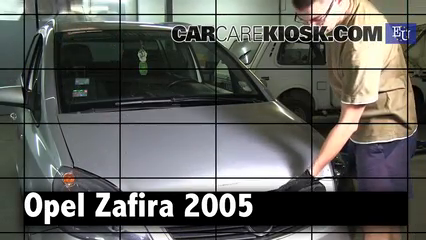 2005 Opel Zafira CDTI Cosmo 1.9L 4 Cyl. Turbo Diesel Review