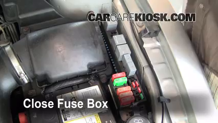 2005 Pontiac Sunfire 2.2L 4 Cyl.%2FFuse Engine Part 2 replace a fuse 1995 2005 pontiac sunfire 2005 pontiac sunfire 2001 pontiac sunfire fuse box diagram at n-0.co