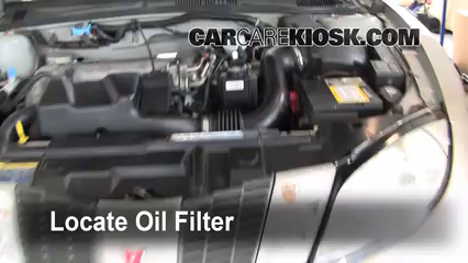 Pontiac Sunfire L Cyl Foil Filter on 2002 Cavalier Engine