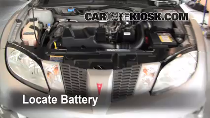 2005 Pontiac Sunfire 2.2L 4 Cyl. Battery