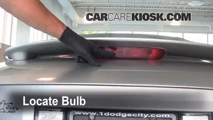 2005 pontiac sunfire 2 2l 4 cyl  lights center brake light (replace bulb)
