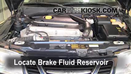 add brake fluid 1999 2009 saab 9 5 2005 saab 9 5 arc 2 3l 4 cyl rh carcarekiosk com Saab Owner's Manual Saab 9 3 Maintenance Manual