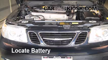 2005 Saab 9-5 Arc 2.3L 4 Cyl. Turbo Sedan Battery