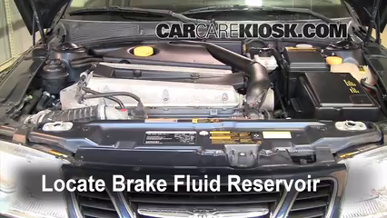 2005 Saab 9-5 Arc 2.3L 4 Cyl. Turbo Sedan Brake Fluid