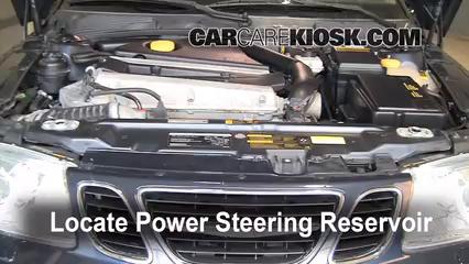 saab 9-3 power steering fluid replacement