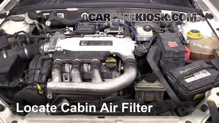 2005 Saturn L300 3.0L V6 Air Filter (Cabin)
