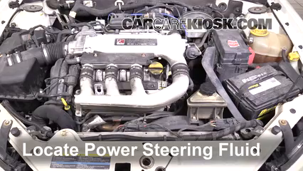 2005 Saturn L300 3.0L V6 Power Steering Fluid
