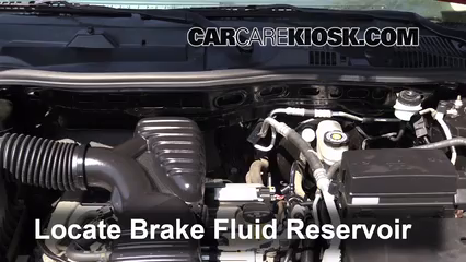 2005 Saturn Vue 2.2L 4 Cyl. Brake Fluid