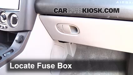 Interior Fuse Box Location: 2002-2007 Saturn Vue - 2005