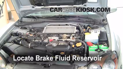 Add Brake Fluid: 2004 2007 Subaru Impreza