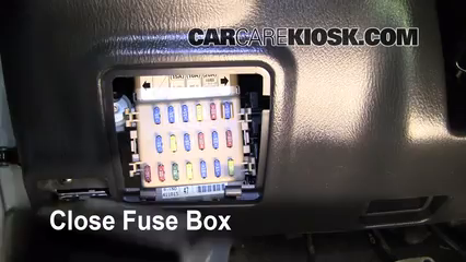 interior fuse box location 2004 2007 subaru impreza. Black Bedroom Furniture Sets. Home Design Ideas