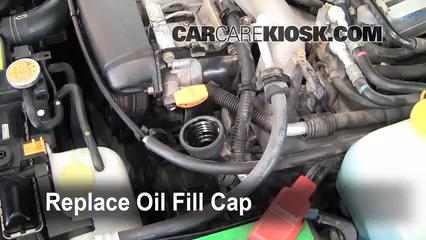 How to Add Oil Subaru Impreza (2004-2007) - 2005 Subaru Impreza WRX ...