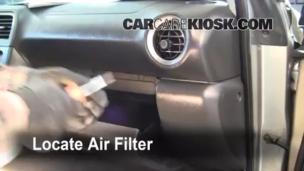 Air Filter Cabin Part on 2005 Subaru Outback Turbo