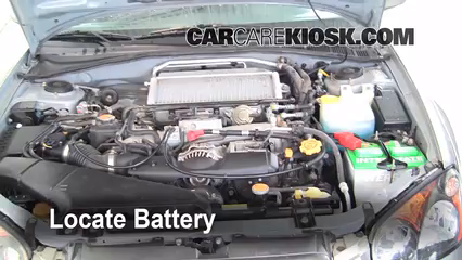 2005 Subaru Impreza WRX 2.0L 4 Cyl. Turbo Sedan Battery Clean Battery & Terminals