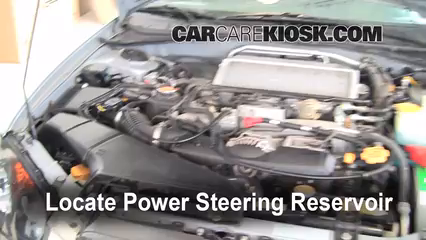 2005 Subaru Impreza WRX 2.0L 4 Cyl. Turbo Sedan Power Steering Fluid Fix Leaks