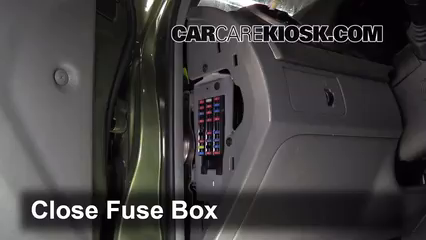 interior fuse box location 2007 2013 suzuki sx4 2007. Black Bedroom Furniture Sets. Home Design Ideas