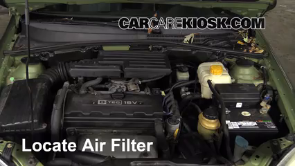 2005 Suzuki Forenza LX 2.0L 4 Cyl. Wagon Air Filter (Engine)