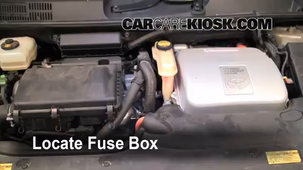 Interior    Fuse    Box Location  20042009 Toyota    Prius     2005