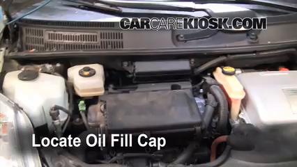 2008 toyota prius oil type