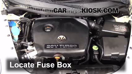 2005 Volkswagen Beetle GLS 1.8L 4 Cyl. Turbo Hatchback%2FFuse Engine Part 1 replace a fuse 1998 2005 volkswagen beetle 2000 volkswagen 2002 VW Beetle Fuse Box Diagram at n-0.co