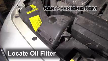 Oil & Filter Change Volvo S40 (2004-2011) - 2005 Volvo S40 i 2.4L 5