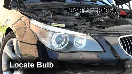 2005 BMW 545i 4.4L V8 Luces Luz de estacionamiento (reemplazar foco)