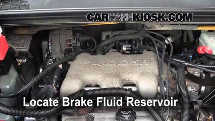 2005 Buick Rendezvous CX 3.4L V6 Liquide de frein