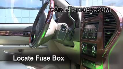 2005 Buick Rendezvous CX 3.4L V6 Fusible (intérieur)