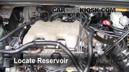 2005 Buick Rendezvous CX 3.4L V6 Liquide essuie-glace