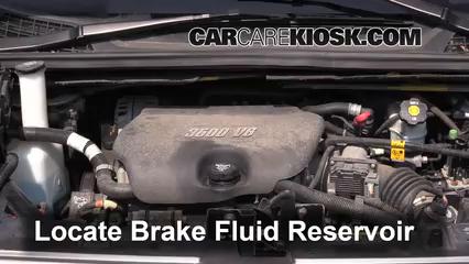2005 Buick Terraza CX 3.5L V6 Liquide de frein