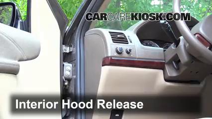 2005 Buick Terraza CX 3.5L V6 Capot